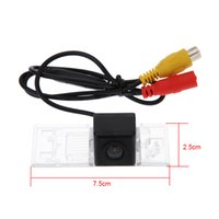 Wholesale Mini Waterproof Car Rear View Back Up Camera Reverse Camera Wide Angle Lens Color Parking Revising Auto Cam for Peugeot
