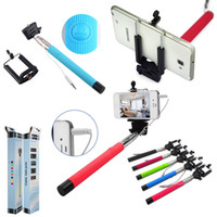 Cheap Extendable Selfie Stick Best Wired Control Monopod