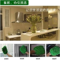 Wholesale Microfiber Car Care Kitchen Household Wash Washing Cleaning Glove Mit Clean Pad