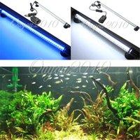 Wholesale Aquarium Fish Tank LED Light Blue White CM Bar Submersible Waterproof Lamp