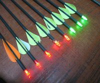 Wholesale Hunting arrow nock with LED light nock can use in the night