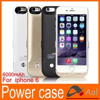 External Battery case - i6 iphone Inch mAh battery back power banks charger case cover for Apple iPhone Cell Phone Chargers External Battery Case