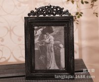 Wholesale European elegance Distressed wood frame wooden picture frame small mixed batch of SH