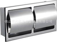 Wholesale Towel rack stainless steel napkin holder stainless steel napkin holder toilet paper holder toilet paper holder