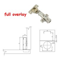 Wholesale Stainless Steel Soft Close Hydraulic Cabinet Hinges Full Overlay