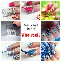 nail stencils - Nail Vinyls Styles Manicure Stencil Set Hollow Out Nail Stencils Set Hot Designs Nail Art Decals And Stickers