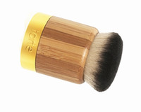 bamboo brand flats - Brand Goat Hair Tarte airbuki bamboo powder foundation brush contour makeup brushes flat kabuki kit pinceis maquiagem