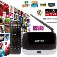 Wholesale Original XBMC fully loaded Q7 MK888 CS918 Quad core G G RK3188 Android TV BOX Smart IPTV Media Player Bluetooth WiFi Antenna