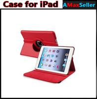 Cheap iPad Mini 3 PU Case Best iPad Air 5 Litchi Flip Case