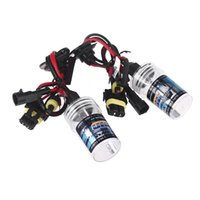 Wholesale 2pcs H7 W K HID Xenon H7 Replacement Bulb Lamps Light Conversion Kit Car Head Lamp Light Car Fog Flashlight