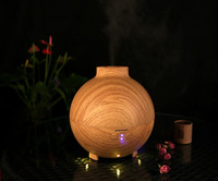 ball air purifier - Creative Christmas Gift Latest design Wood Ball Atomizer Air Humidifier ml Ultrasonic Air Purifier Aroma Diffuser By DHL
