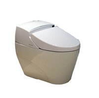cover bidet - Floor Standing Automatic Intelligent Toilet Bidet Senor seat cover toilet