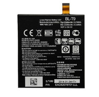 Wholesale For LG D820 Battery For Google Nexus BL T9 mah BL T9 Original Genuine Batteries For LG D820 D821 only US ePaket