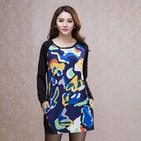 base mosaic - 203 a special activities not return of large size women slim dress printing mosaic base
