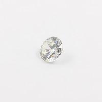 Round Brilliant Cut lab created - 10pcs mm mm Cubic zirconia Machine Cut simulated diamond round loose CZ stones