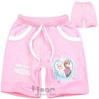 ann summers - hot sell new froze Children s Shorts Cartoon summer Aisha princess Ann Pure cotton girls shorts Beach pants