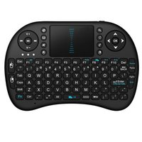 mini pc notebook - English Spanish Russian Keyboard i8 Fly Air Mouse Mini Wireless QWERTY Keys Keyboard Mouse Touchpad for PC Notebook Android TV Box HTPC