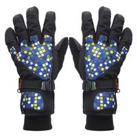 Wholesale 2016 Ladies Womens Warm Super Waterproof Snow Skiing Snowboard Ski Gloves