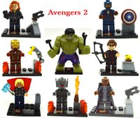 building products - 480pcs SY271 minifigures Upcoming Product Avengers Age of Ultron Building Blocks Sets Model Bricks
