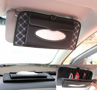 Wholesale 2015 new in1 car cd sun shading board tissue box cd folder car cd bags auto supplies accessories