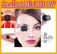 Wholesale Y2000 Mini HD DV Digital Video Camera smallest mini SLR aerial Pocket DVR camcorder Recorder Spy Hidden Web spy mini Camera retail packaging