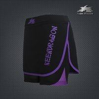Wholesale KEEN DRAGON MMA Clothing Female Yoga Shorts Skirt Cheap Shorts MMA
