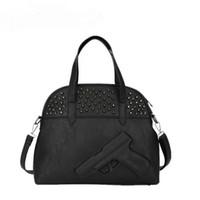 beaded sequined lace fabric - DHL D Gun Bag Famous Brand Crossbody Bag For Women Shoulder Bag Ladies Handbags Leather Rivet Messenger Bag Embossed Handbag