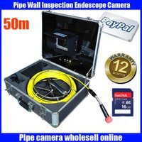 sewer pipe inspection camera - Freeship m cable DVR Pipe Wall Sewer Inspection Camera System quot waterproof Sewer detection video endoscope camera system