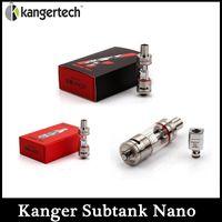 Cheap Kanger Subtank Nano Atomizer 3.0ML Kangertech Subtank Nano Clearomizer OCC Coil Atomizer VS Kanger Subtank MINI Kanger Subtank
