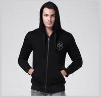autumn watch - Fashion Men Watch Dogs Black Sweatshirt Long Sleeve Zipper Casual Hooded Coat Plus Size Autumn Thicken Hoodies YDF0211