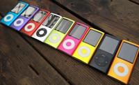 Wholesale NEW th GB1 Lcd Video Radio ebook FM game digital slim MP3 MP4 colors optional