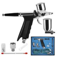 air paint gun cups - 0 mm Airbrush cc cc Ink Cup Air Brush Spary Gun Art Paint Craft Kit New