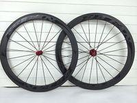 Wholesale Original FEIFAN full carbon Road bike wheels mm rim road bike bicycle wheelset racing wheels with lightest weight powerway R13 hubs