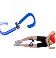 Wholesale 20pcs Blue Pink Leg Trainer Shaper Stovepipe Equipment Kick Device Sports Weight Loss Machine Rhythmic Gymnastics Slackline Fitness Crossfit