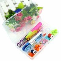 basic tool box - DIY Knitting Accessories Supply Magic Weaving Knit Basic Tools Case Box Set