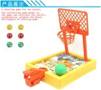 ball racing games - Children s Finger ejection basketball game ball game toy ball home parent child interaction competitive race