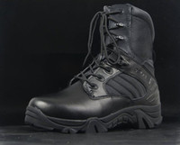 Wholesale NEW Delta Tactical Boots Military Desert Combat Boots Army boots Breathable Shoes BLACK EUR SIZE