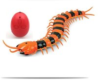 animal robotics - Electronic pet Remote Control simulation Giant IR RC Scolopendra centipede Tricky Prank Scary robotic insect Toy child adult fun gift