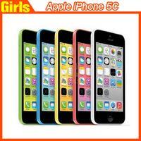 Wholesale Unlocked smart phone Refurbished iPhone c Refurbished Apple iPhone C Cell Phone dual core IOS8 inch IPS GB Girls