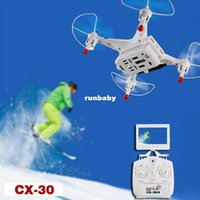 Wholesale Cheerson CX W CX s Drone With Camera Professional Drones FPV Rc Quadcopter drone with camera Rc Helicopter With Camera