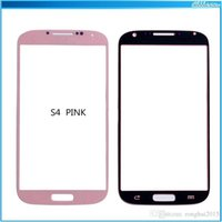 Wholesale Samsung Galaxy S3 S4 S5 Outer Glass Lens LCD Outer Glass Lens Touch Screen Cover Repair Parts For note