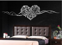 abstract factory pattern - Factory Home Decor Self Adhesive Love Heart Pattern Wall Stickers Wall Decal CMX150CM piect