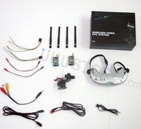 Wholesale Boscam FV01 FPV Ghz Ghz All in One Head Tracker FPV Goggles Video Glasses Camera Free shiping