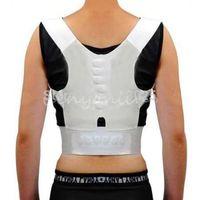 Wholesale Adjustable Magnetic Therapy Posture Support Corrector Correction Body Back Pain Lumbar Belt Shoulder Brace Shoulder support order lt no trac