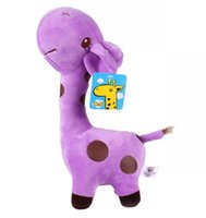 giraffe gifts - Stuffed Animals Toy baby Plush colours giraffe children Gifts High Quality Soft Plush Toys Cloors WD1193