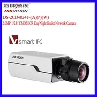 Wholesale Hikvision Smart IP Camera DS CD4024F A P W MP Full HD Box Camera D DNR DWDR ONVIF Bullet Network POE Digital Camera