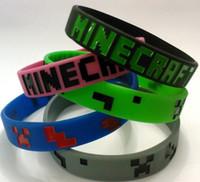 silicone bracelet - Minecraft wristband Minecraft bracelet Silicone wristbands bracelets bracelets bracelets