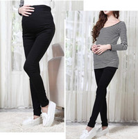 Wholesale 5605 maternity pants trousers spring and summer thin maternity belly legging pencil long design clothes for pregnant women