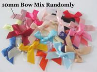Wholesale F028 Hot sale Ribbon Bowtie randomly craft gift flower bow tie scrapbooking accessories