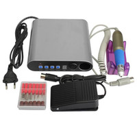 Wholesale Professional Pro Electric Nail File Drill Bit Manicure Kits Nail Art Pedicure Machine Set Sanding Band Nail Accessory Tools